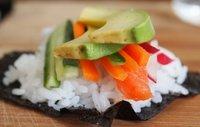 Zalm-Groente Sushi Rol