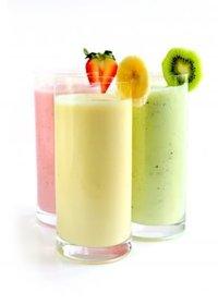 Een heerlijke smoothie met als basis yoghurt