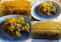 Groente puree ovenschotel