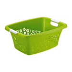 Wasmand groen 55 x 38 x 22 cm