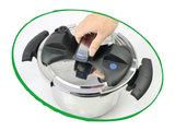 deksel snelkookpan 10 liter