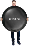 Vuurschaal 100cm