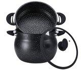 Couscous pan RVS 6 liter marmeren coating