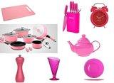 all in pink roze uitzet set