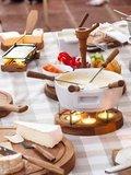 Fondueset Candle Light Twinkle 4 personen tafel