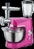 Keukenmachine 3 in 1 roze nieuw