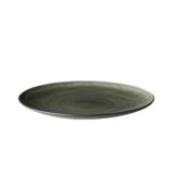 Asia bord 27 cm bruin grijs