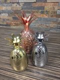 Cocktail bekers Ananas koper goud zilver