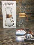Koffiemaker met filter voor drie kopjes Chemex Classic