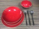 Lava rood servies