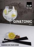 Gin tonic glazen Salt & pepper