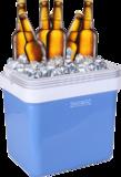 Koelbox 25 liter blauw