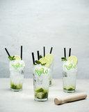 Cocktailset 4 glazen + stamper