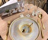 Serviesset 12-delig Gold Glister_