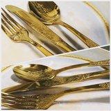 Bestekset Barok 18-delig Gold Antique _