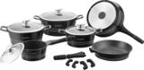 Complete startersset met keramische pannen zwart_