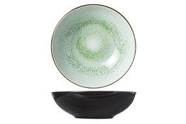 Diep bord 20cm groen Finesse