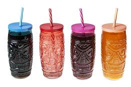 Cocktail / frisdrank glas set 4 stuks Mask