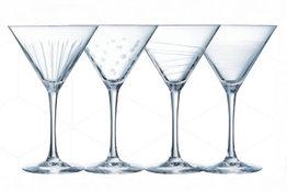 Cocktail glazen martini 30cl Illumination