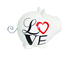 Spaarpot varken Love Oink