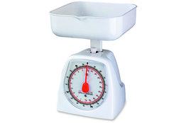 Keukenweegschaal mechanisch wit tot 1 kg