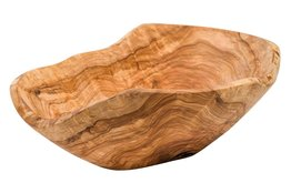 Kom olijfhout 35 cm