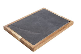 Acacia-leisteen plank 35cm