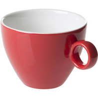 Cappuccinokop 23 cl rood Bart Maastricht Colour Cafe