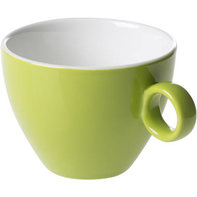 Cappuccinokop 23 cl groen Bart Maastricht Porselein Colour Cafe