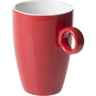 Beker met oor 23 cl rood Bart Maastricht Colour Cafe