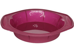 Bakvorm roze Brioflex 24 cm