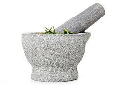 Vijzel met stamper en schenktuit graniet Cosy&Trendy