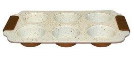 Bakplaat marble coating voor 6 muffins