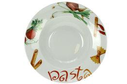 Pasta bord met print 27 cm Cosy&Trendy