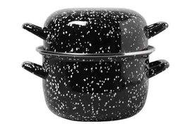 Mosselpan Black Pearl 20 cm