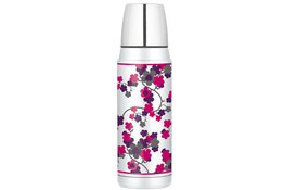 Thermosfles 470ml bloemenprint