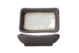 Schaaltje 10,5 cm rechthoek Stone