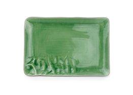 Schaal rechthoekig groen 40 x 26 cm Yong Marea