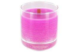 Geurkaars roze whiskey in glas Hautekiet