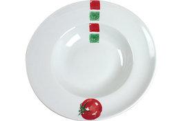 Pasta bord Tomato print 27,5 cm Cosy&Trendy