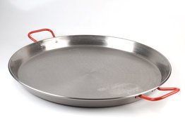 Paella pan staal 46 cm