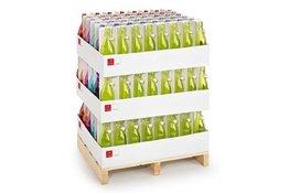 Display 144-delig fles met capsule 1 liter