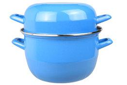 Mosselpan blauw 1,2 kg - 18 cm