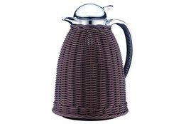 Schenkkan Albergo Alfi 1 liter bruin wicker