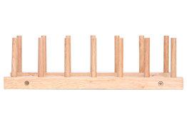 Bordenrek hout voor 6 borden Cosy&Trendy