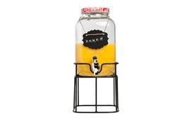 Sap dispenser op voet met kraantje 4 liter