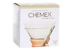 Filters set van 100 voorgevouwen Chemex Classic