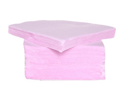 Roze servetten 25 cm x 25 cm 40 stuks Cosy & Trendy