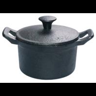 Mini kookpot 11 cm gietijzer