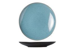 Bord 28 cm blauw Finesse